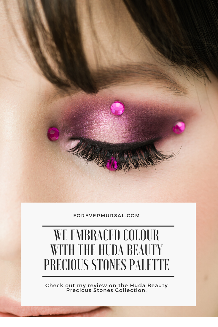 We Embraced Colour With The Huda Beauty Precious Stones Palettes.